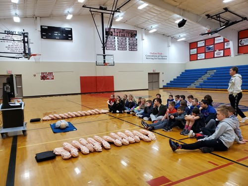 Student Learn CPR