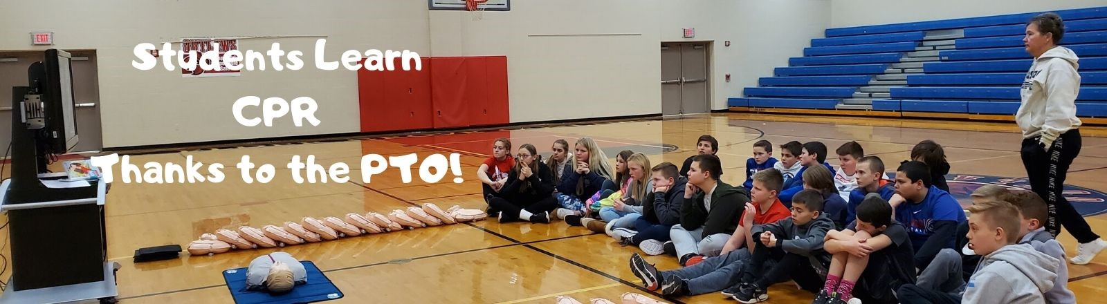 Students Learn CPR thanks to the PTO!